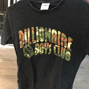 Billionaire Boys Club camo logo tee
